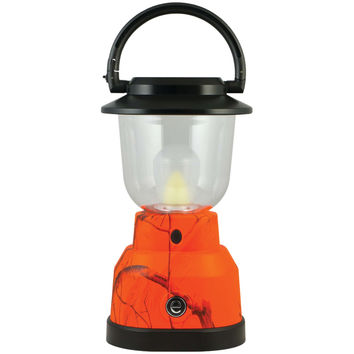 REALTREE 14200 350-Lumen Plus Series RealTree(R) Camouflage Lantern (4 D batteries; Orange)