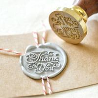 Thank You Wax Seal Stamp x 1