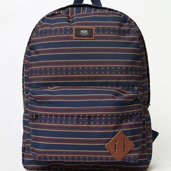 ICIKJH6 Vans Old Skool II Tribal Striped Backpack