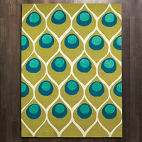 Peacock Rug Modern Chic Home