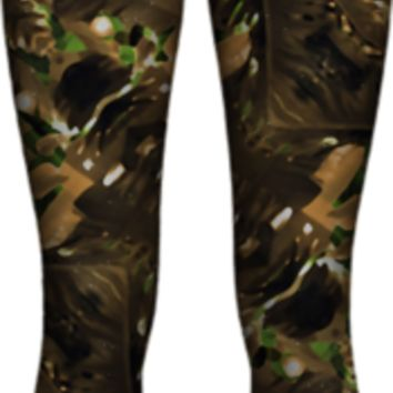 artificial-tribal-jungle-print-1 WOMEN LEGGING PAOM-VFS created by Rudimencial Design | Print All Over Me