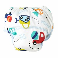 Baby Terry Cloth Diaper - Cars