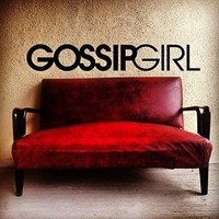 Vinyl Wall Decal Sticker Bedroom lettering gossip girl fashion quote v9
