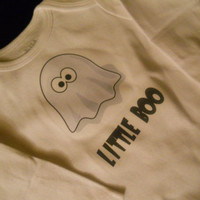Little Ghost Halloween Onesuit. Long Sleeved. Can Be Customized By Size.