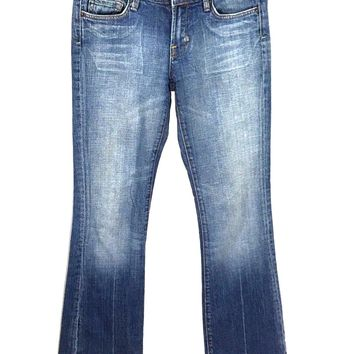 Citizens of Humanity Jeans Low Waist Bootcut Kelly #001 Stretch Womens 25 - Preowned