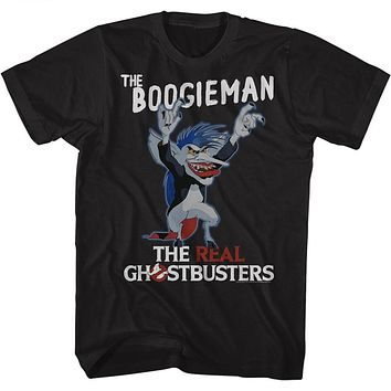 The Real Ghostbusters Tall T-Shirt The Boogieman Black Tee