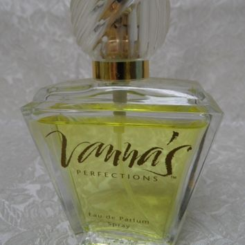 Vanna White's Vanna's Perfections Eau De Parfum Spray 1.7oz.~Very Rare