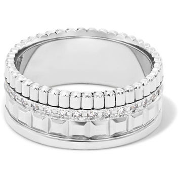 Boucheron - Quatre Radiant Edition Small 18-karat white gold diamond ring