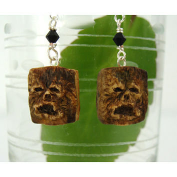 Evil Dead Necronomicon Earrings-
