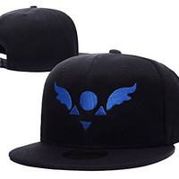 RHXING Delta Rune Undertale Adjustable Snapback Embroidery Hats Caps