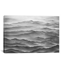 'Ocean Mountains - Ben Heine' Giclée Print Canvas Art