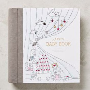 Le Petit Baby Book by Anthropologie in Blue Size: One Size Books