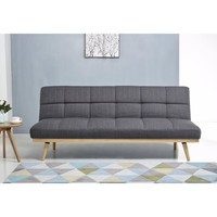 Abbyson Kenzie Mid Century Linen Sofa Bed | Overstock.com Shopping - The Best Deals on Sofas & Loveseats