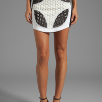 bless'ed are the meek Landscape Skirt in Multi from REVOLVEclothing.com