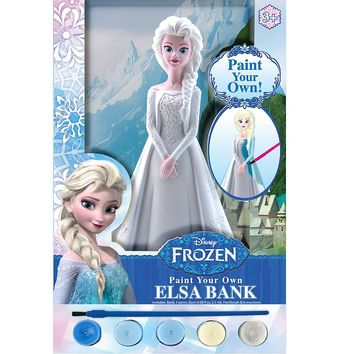 Disney's Frozen Paint-Your-Own Elsa Bank Kit