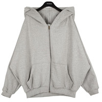 Zip-up Jersey Jacket