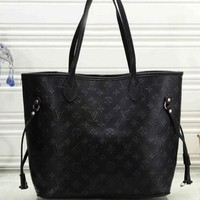 Louis Vuitton LV Women Fashion Leather Tote Handbag Shoulder Bag