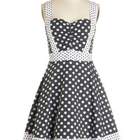 Bea & Dot Vintage Inspired Mid-length Sleeveless Fit & Flare