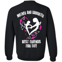 mother and daughter best friends for life mother T-Shirt