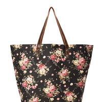 Romantic Rose Oversized Tote