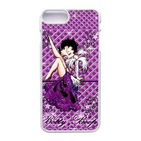 Apple iphone 7 Plus (5.5 inch) Case, Generic Betty Boop Bling Cover Case for iPhone 7 Plus (5.5 inch) White Hard Plastic Phone Case GHST8588662