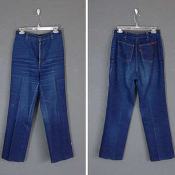Vintage Levi Jeans / High Waisted Jeans / 28 / 1970's