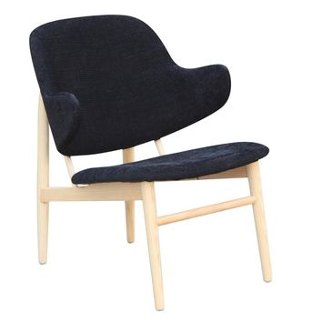 Atel Lounge Chair, Black