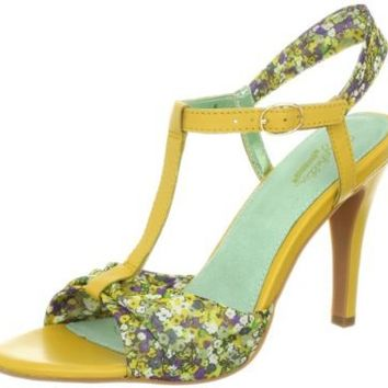 Seychelles Women's Do What Ya Like Sandal,Yellow,8.5 M US