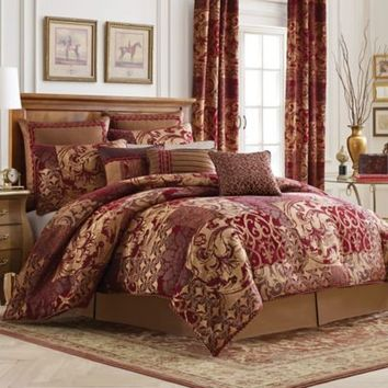Croscill® Ryland Reversible Comforter Set