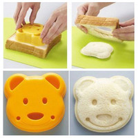 Teddy Bear Pocket Sandwich Maker