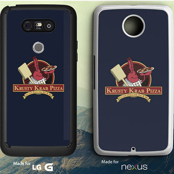 krusty Krab Pizza Spongebob Squarepants LG G3 | G4 | G5 Case, Nexus 5 | 6 Case