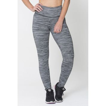 Grey Run On Legging