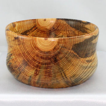 Large Wooden Bowl.  Hand turned wooden Bowl.  Home Décor.