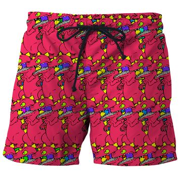 Reptar Board Shorts