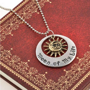 Game of Thrones Moon of My Life My Sun   Stars Pendant Necklace SM6