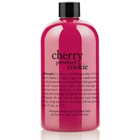 cherry pinwheel cookie | shampoo, shower gel & bubble bath | philosophy bath & shower gels