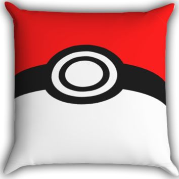 Pokemon Zippered Pillows  Covers 16x16, 18x18, 20x20 Inches