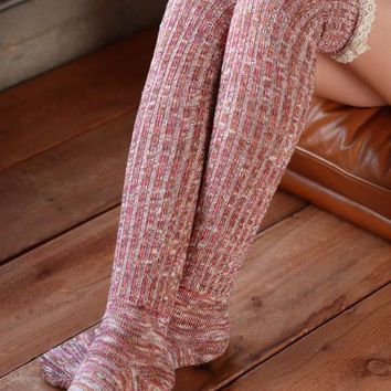 Right for the Occasion Knit Boot Socks - Multi