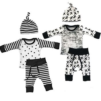Baby Boys Clothing 3pcs Outfits Set Newborn Toddler