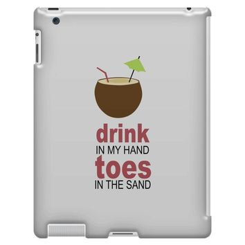 drink in my hand iPad 3 and 4 Case