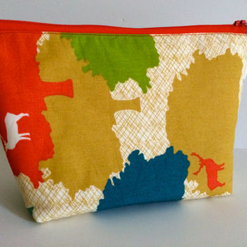 Elk Grove Cosmetic Bag Makeup Bag Gadget Bag