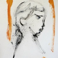 Saatchi Art: Large Portrait 18C16 Drawing by Frederic Belaubre