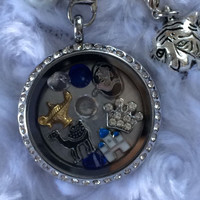 Princess Jasmine Aladdin Inspired Memory Locket Aladdin Necklace
