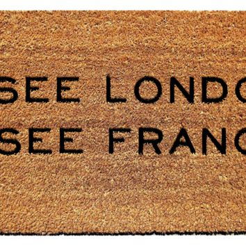 I See London I See France Doormat