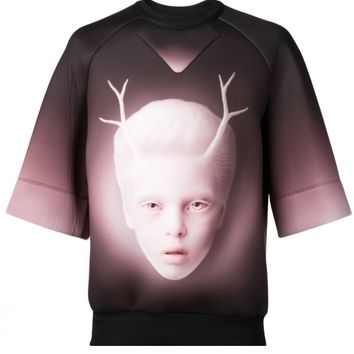 JUUN J - Reindeer Child Neoprene Pullover - JC4A442PC5 BLACK - H. Lorenzo