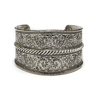 Sole Society Etched Tribal Cuff