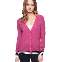 Dainty Buds Jacquard Cardigan by Juicy Couture