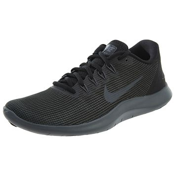 Nike Womens Flex RN 2018 Running Shoes Black/gray Womens Style :AA7408
