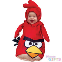 Baby Boy's Costume: Angry Birds Red, Infant 0-9