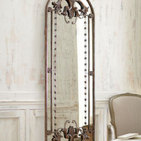 Antiqued Door-Frame Mirror - Horchow